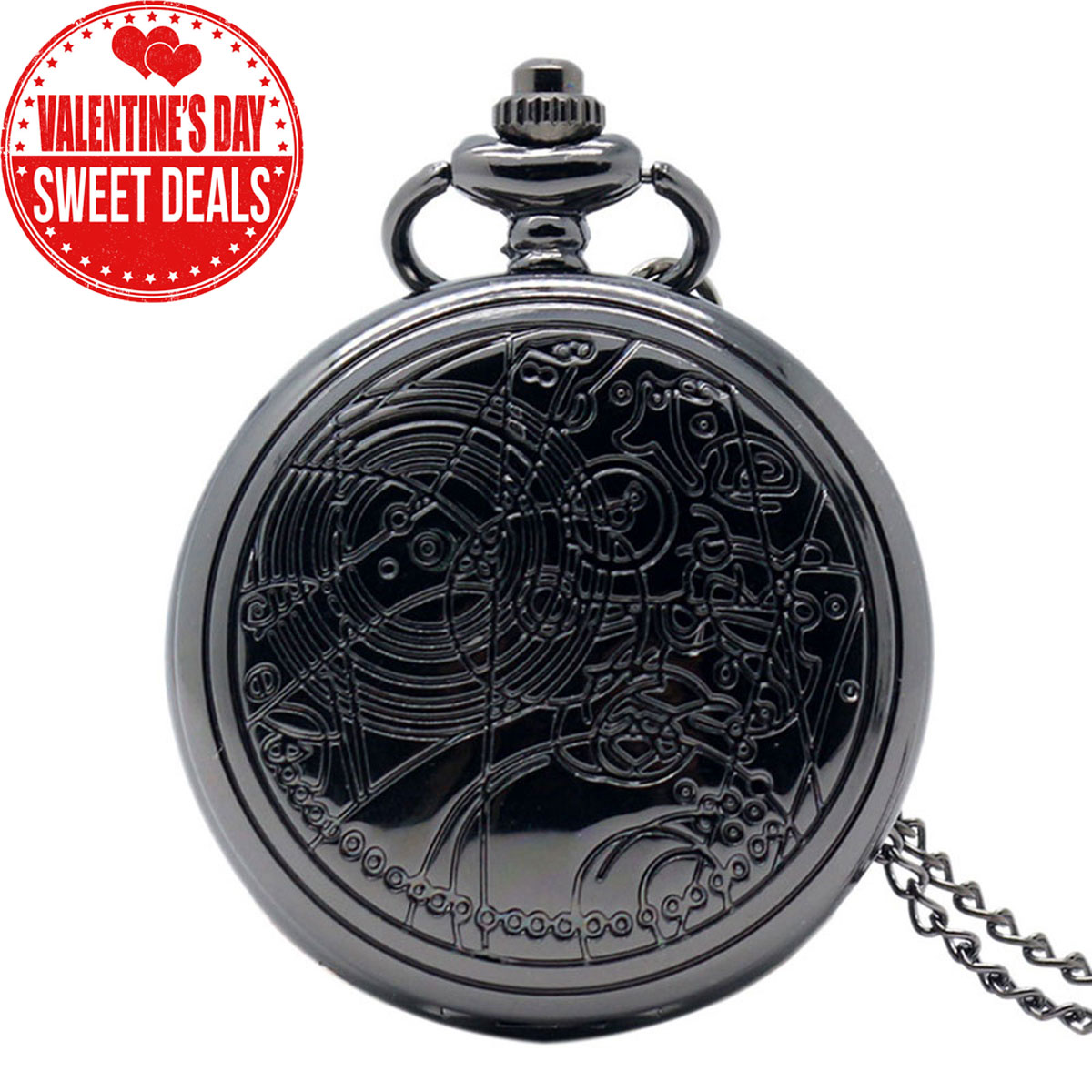 Yisuya Antique Doctor Who Dr Who Pocket Watch Valentine