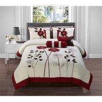 Victoria Classics Adrienne 7 Piece Queen Comforter Set in ...