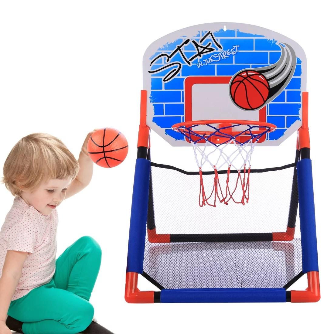 Sports Multifunctional Basketball Rack Indoor Outdoor