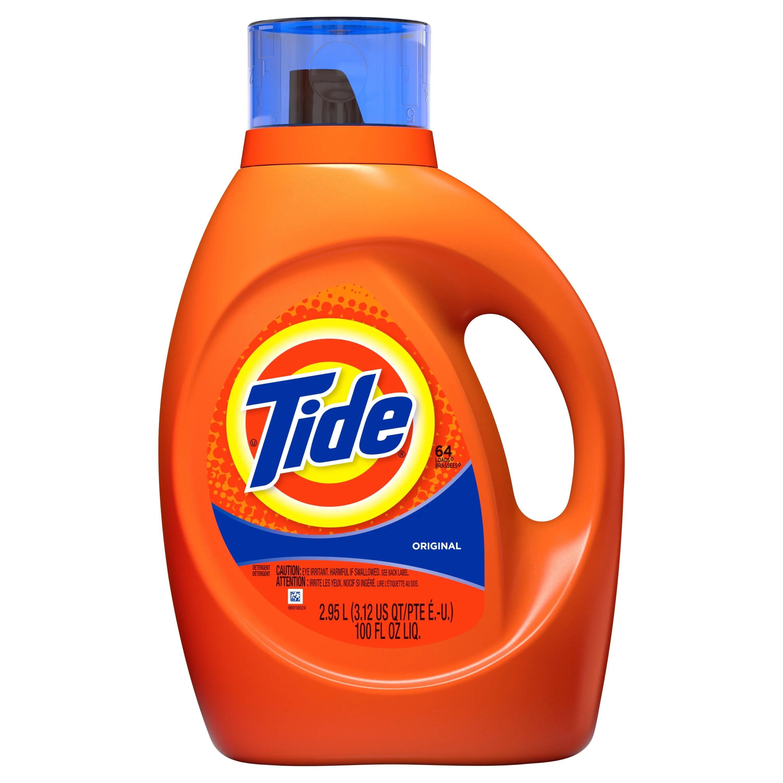 Tide Original Scent Liquid Laundry Detergent 64 loads 2 ...