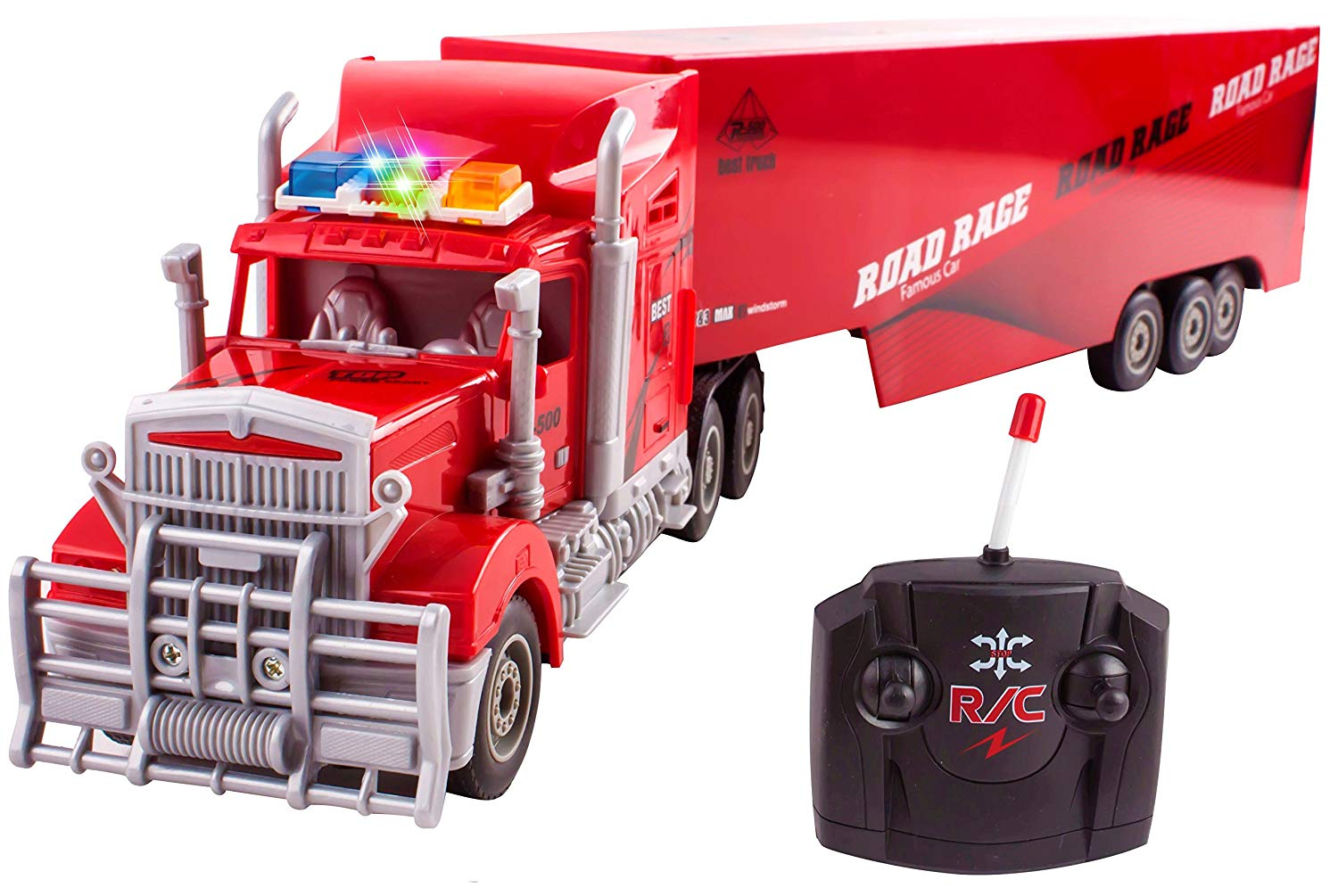 Toy Semi Truck Trailer 23 Electric Hauler Remote Control