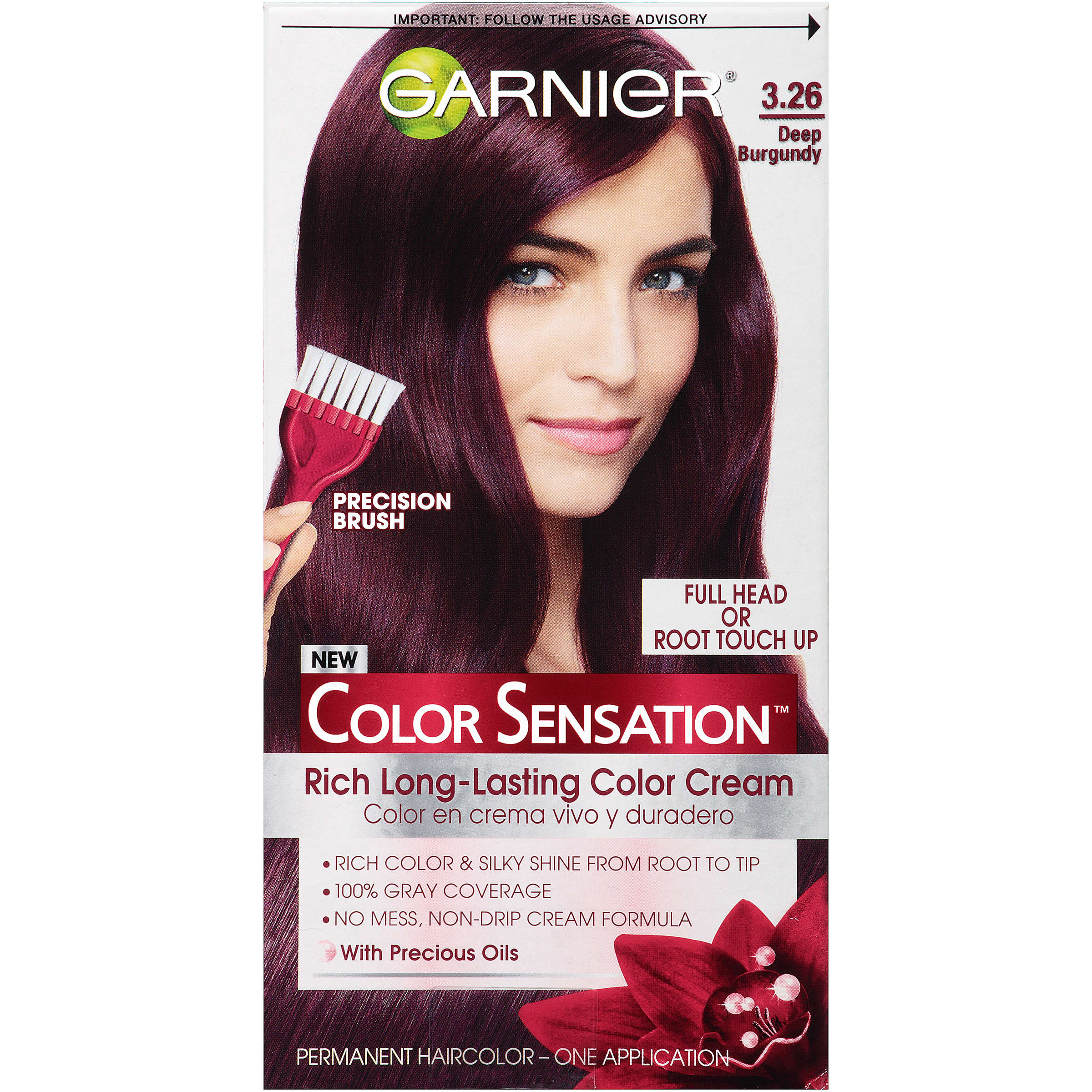 garnier color sensation permanent