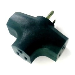 3 Way Outlet Ford F150 Wiring Diagram Wall Plug Adapter T Shaped Tap Prong Walmart Com