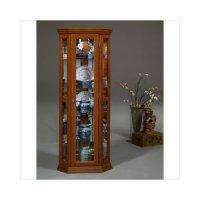Orleans Furniture Jacobson Magnolia Classics Corner Curio ...