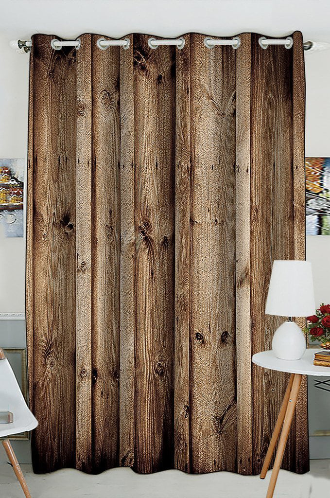 gckg vintage rustic knotty old barn wood window curtain kitchen curtain size 52 w x 84 inches one piece