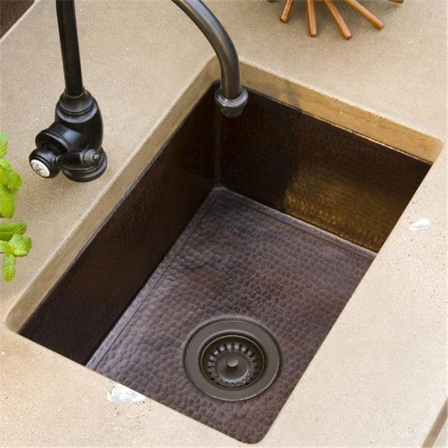 copper kitchen sinks islands you can sit at native trails cpk579 cocina 24 in sink brushed nickel
