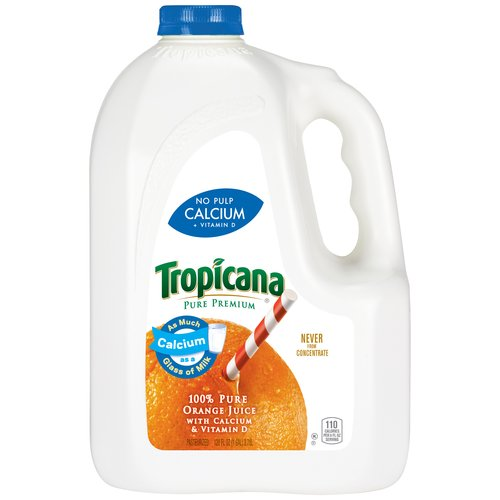 Tropicana Pure Premium No Pulp Calcium Vitamin D Orange