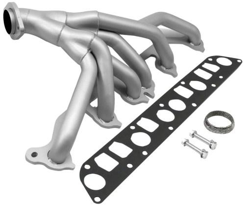 small resolution of for 91 99 jeep wrangler yj tj 4 0l 6cyl ceramic 6 2 1 performance header exhaust manifold walmart com