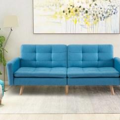 Bright Sofa Diamond Platform Bed Harper Designs Entertainment Upholstered Futon Multiple Colors Walmart Com