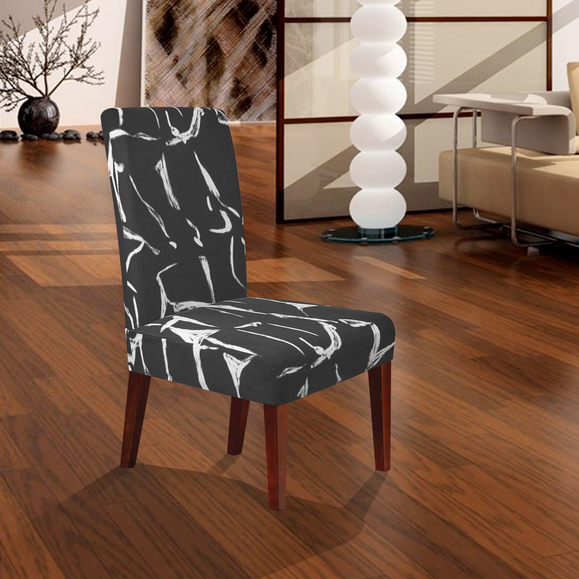 party chair covers walmart counter height table and chairs set soft spandex stretchy banquet home hotel wedding seat cover short dining slipcovers bk