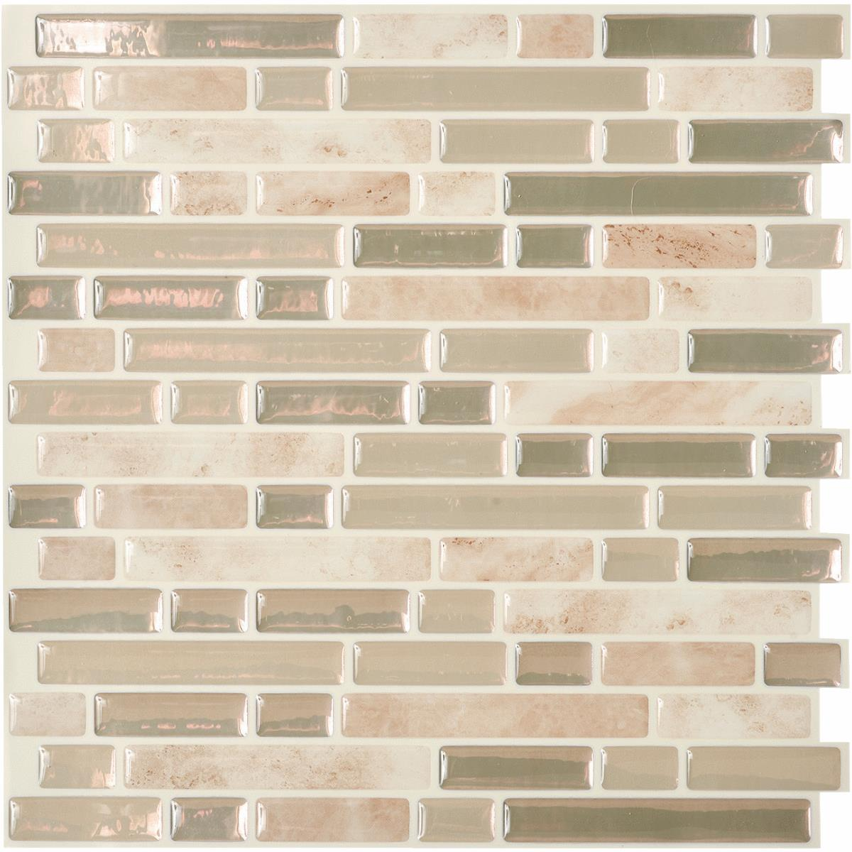 Peel And Stick Metal Wall Tile  Walmartcom