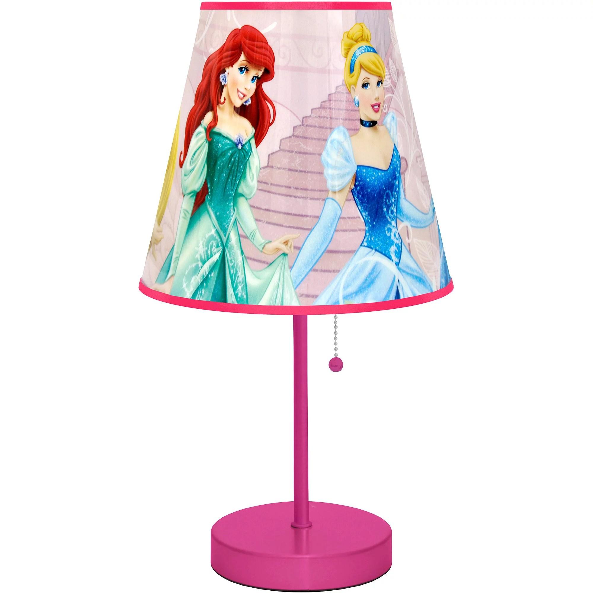 Disney Princess Table Lamp, Pink