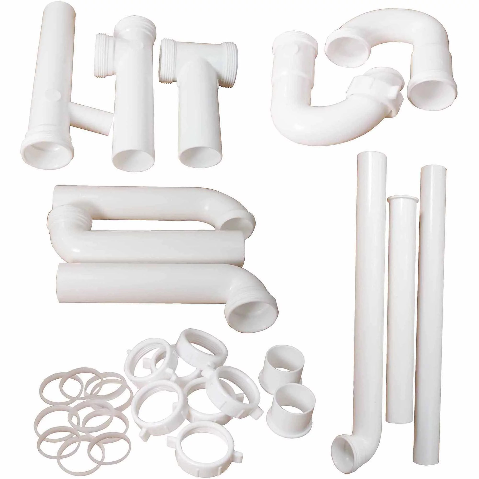 peerless cpvc universal kitchen lav trap kit with 1 1 4 in o d and 1 1 2 in o d drainage