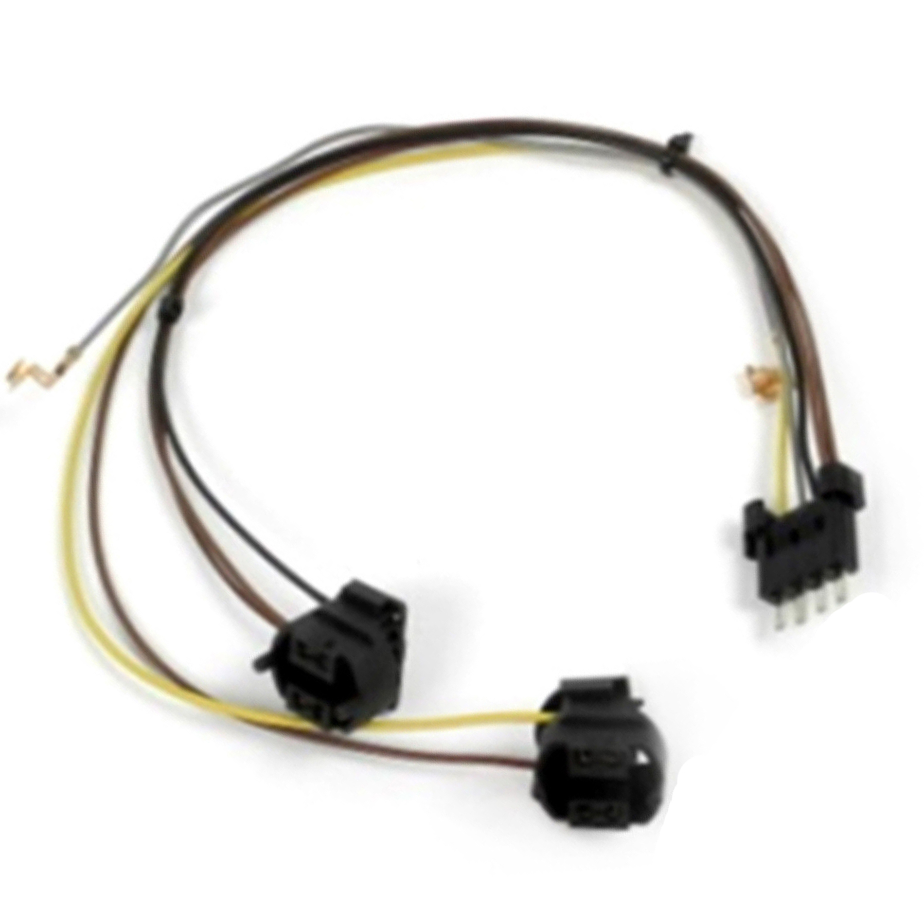 hight resolution of for right passenger side mercedes benz ml350 ml320 ml550 w164 headlight wire harness repair kit 2006 2007 2008 2009 2010 walmart com