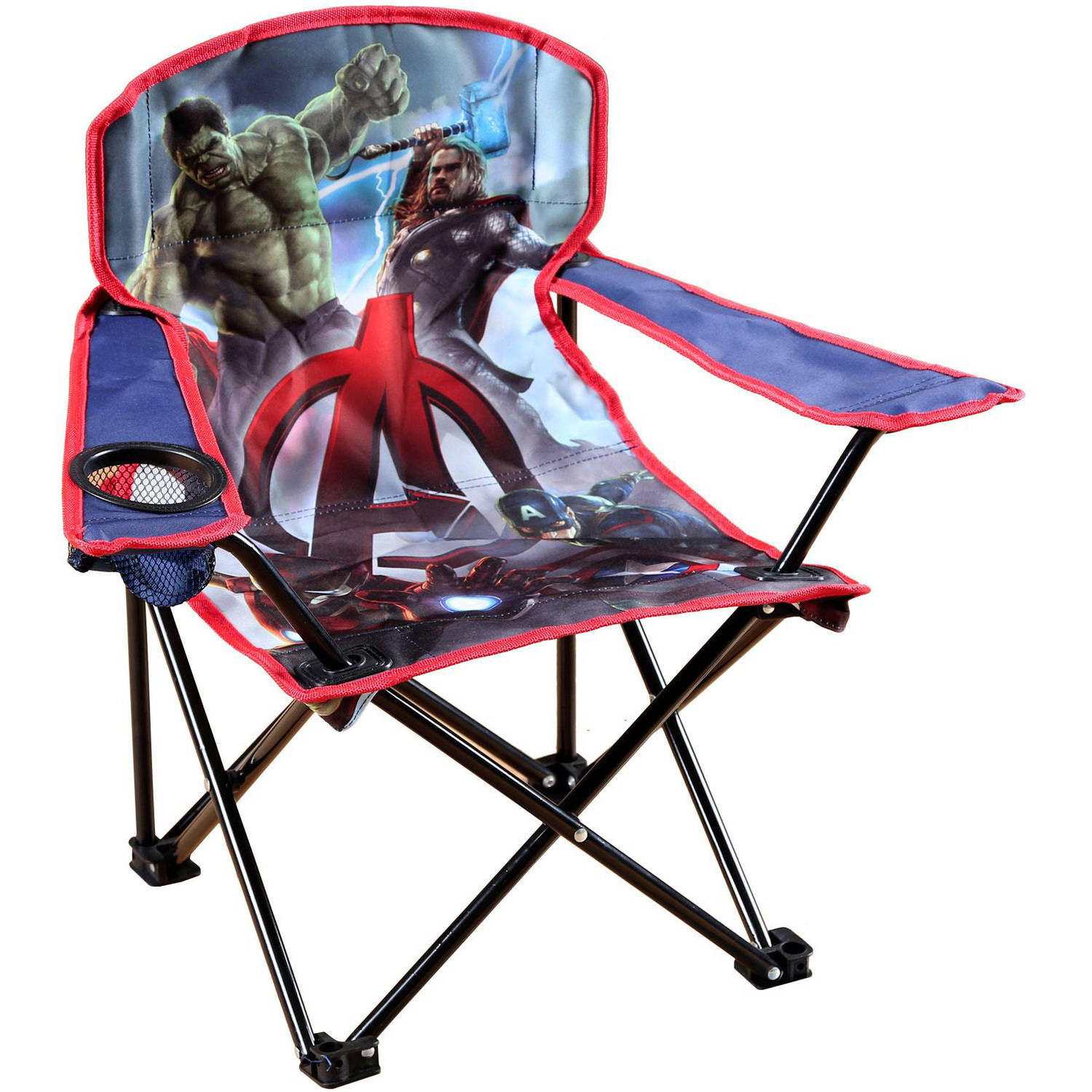 child camping chair canvas director covers australia marvel avengers kids walmart com departments