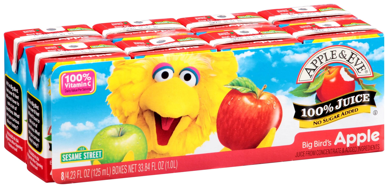 Apple Eve 100 Juice Sesame Street Big Bird39s Apple 84