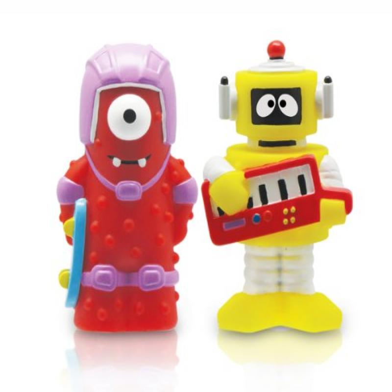 Yo Gabba Gabba 2 Collectible Figures Muno And Plex 2