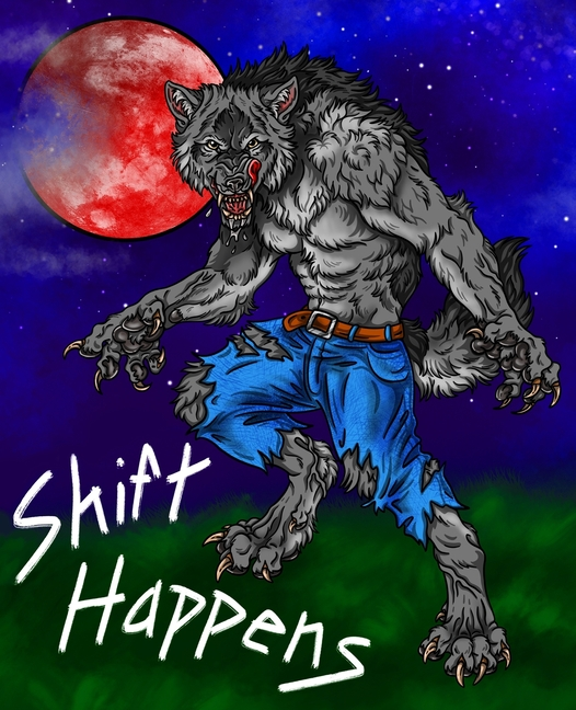 It will be below the horizon at this time, so we'll have to wait until sunset to watch it take its place in the sky. Shift Happens: A Halloween Blood Moon Werewolf Composition Notebook Journal (Paperback ...