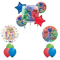 The Ultimate PJ MASKS Birthday Party Supplies and Balloon ...