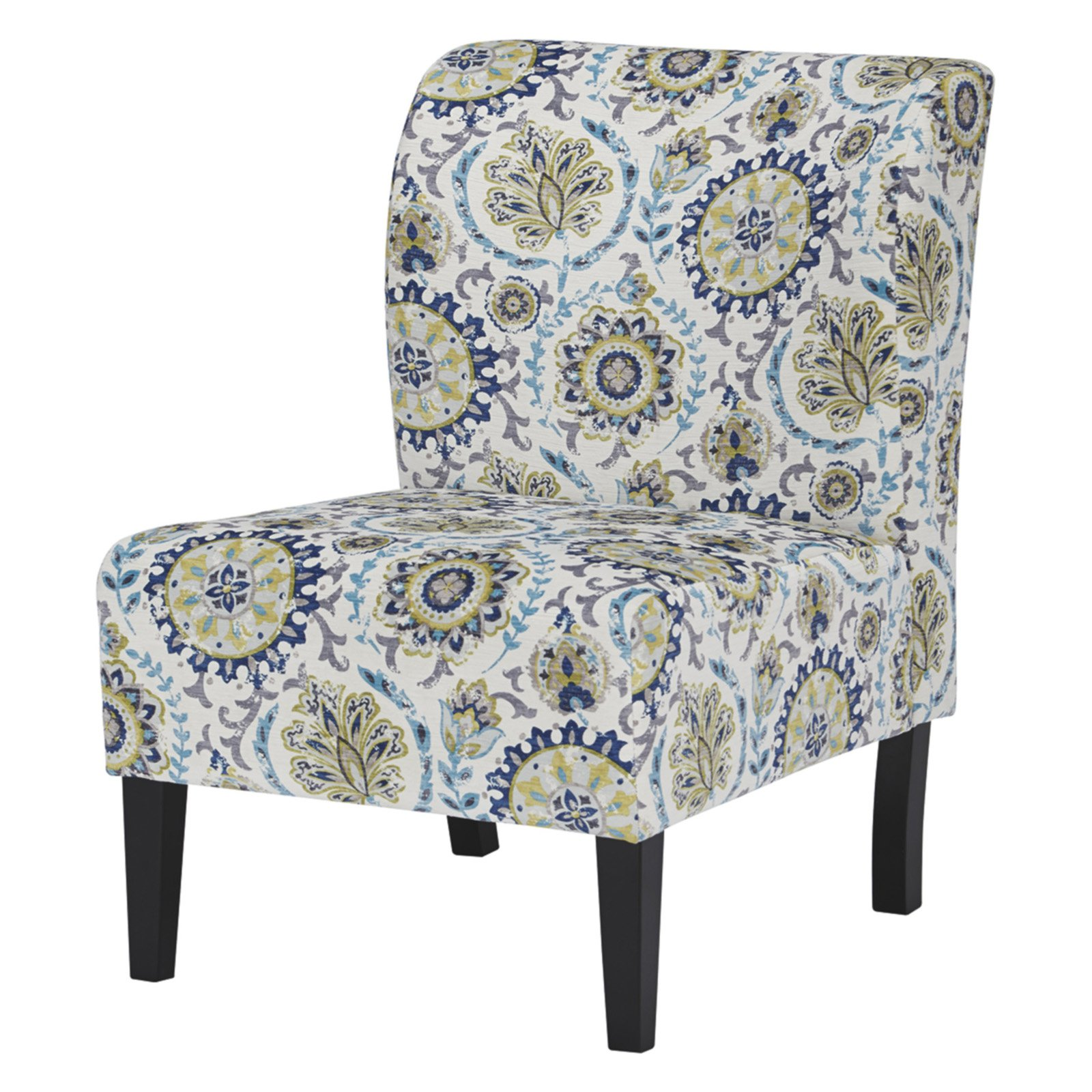 Floral Chairs Signature Design By Ashley Triptis Floral Print Accent
