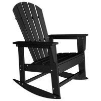 POLYWOOD South Beach Recycled Plastic Adirondack Rocking ...