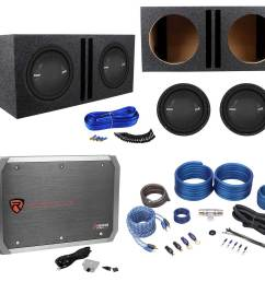 2 polk audio mm 1242 dvc 12 2520w subwoofers vented box mono amplifier amp kit walmart com [ 1700 x 1556 Pixel ]