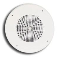 Bogen S86T725PG8W 8 in. 25-70 Volt Ceiling Speaker ...