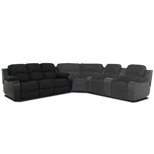klaussner grand power reclining sofa extra large dog klaussnerfurniture 012013152034 black walmart com