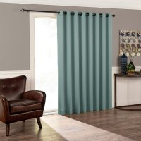 Eclipse Thermal Blackout Tricia Patio Door Window Curtain ...