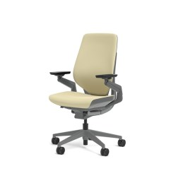 Office Chair High Seat Folding Chairs Walmart Steelcase Gesture Cogent Connect Malt Fabric Height Shell Back Dark On Frame Com