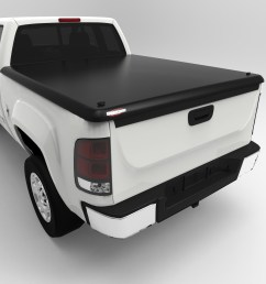 undercover uc4010 00 06 tundra ext cab 6 5 tonneau cover with bed rail caps walmart com [ 1500 x 1500 Pixel ]