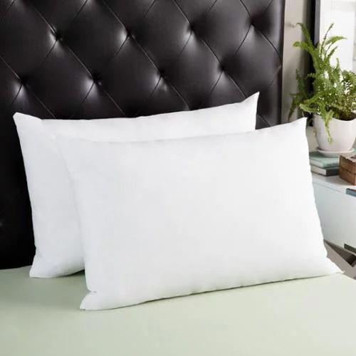 splendorest angel soft down alternative side sleeper queen size pillows set of 2 white