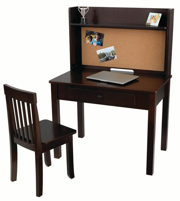 Pinboard Kids Desk with Chair and Hutch  Walmartcom