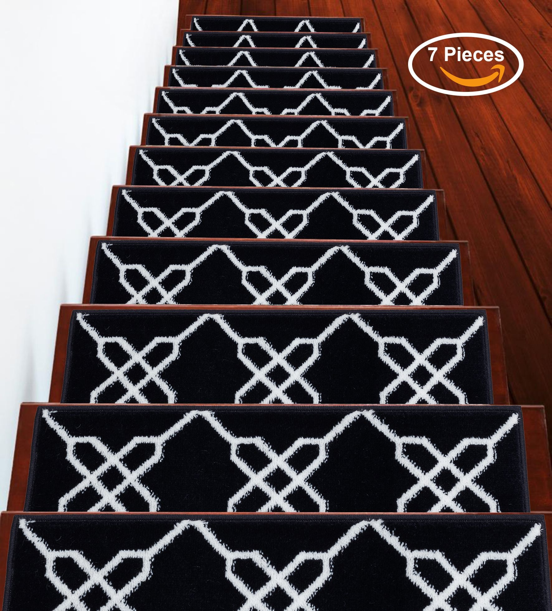 Sussexhome Stairs Slide Stair Treads Carpet Stair Tread Non | Stair Runners For Carpeted Stairs | Round Corner | Marble | Hardwood | Commercial | Tile Stair