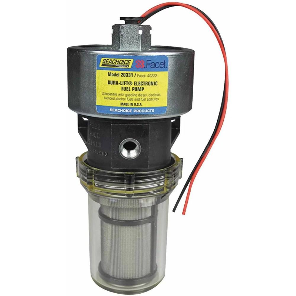medium resolution of seachoice 20331 12v dura lift electronic fuel pump 11 5 9 psi 33 gph walmart com