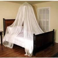 Oasis Round Hoop Sheer Bed Canopy - Walmart.com
