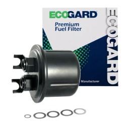 ecogard xf54637 engine fuel filter premium replacement fits honda prelude walmart com [ 1000 x 1000 Pixel ]