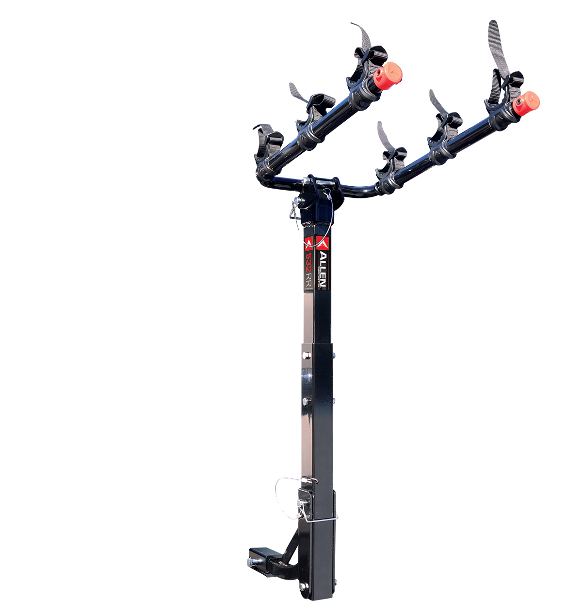 allen sports deluxe 3 bicycle hitch mounted bike rack carrier 532rr