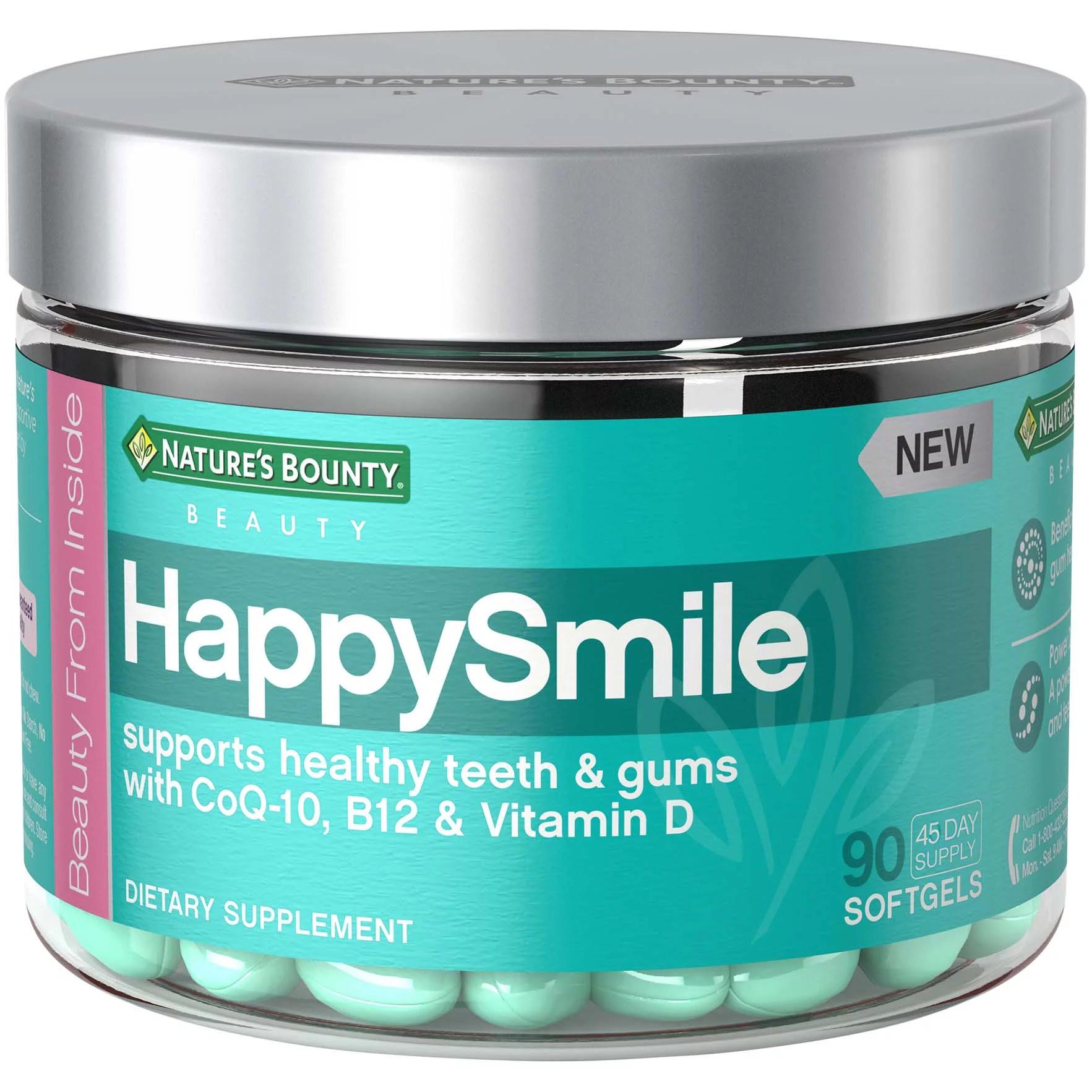 Nature's Bounty Beauty - Nature's Bounty® HappySmile ...