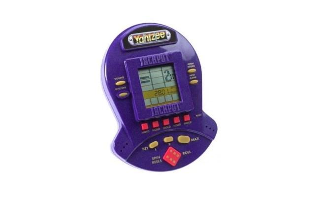 Yahtzee Jackpot Electronic Handheld Casino Style Game By