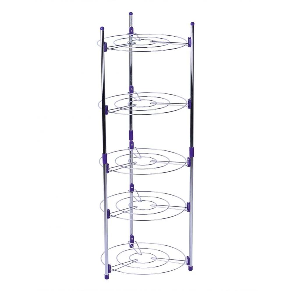 Lv. life 5 Tiers Home Kitchen Pans Pots Storage Rack