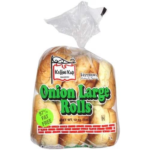 Koffee Kup Bakery Koffee Kup Onion Large Rolls 12 oz