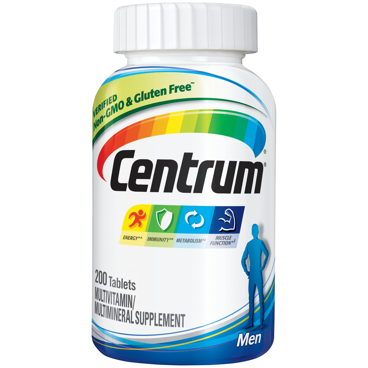 Centrum Men Multivitamin Tablets 200 Ct
