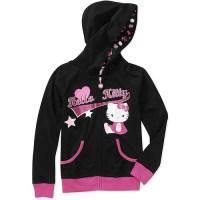 Hello Kitty Girls' Graphic Hoodie - Walmart.com