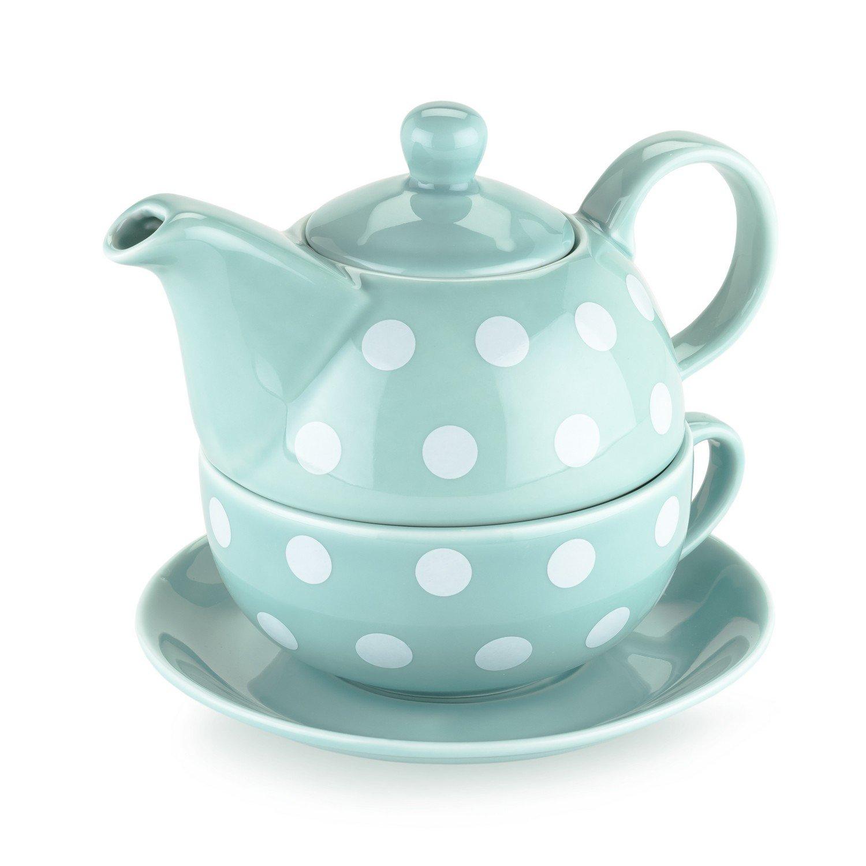 china teapot addison polka