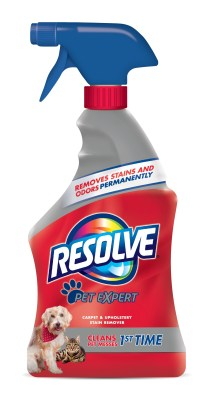 Resolve Pet Stain Remover Carpet Cleaner, 22 Ounce ...