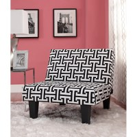 Kebo Chair, Black and White Geometric - Walmart.com