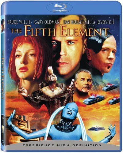 FIFTH ELEMENT (REMASTERED) (BR/WS 2.35 A/DD 5.1/PCM 5.1/ENG-SP-CH-PO-TH-SUB
