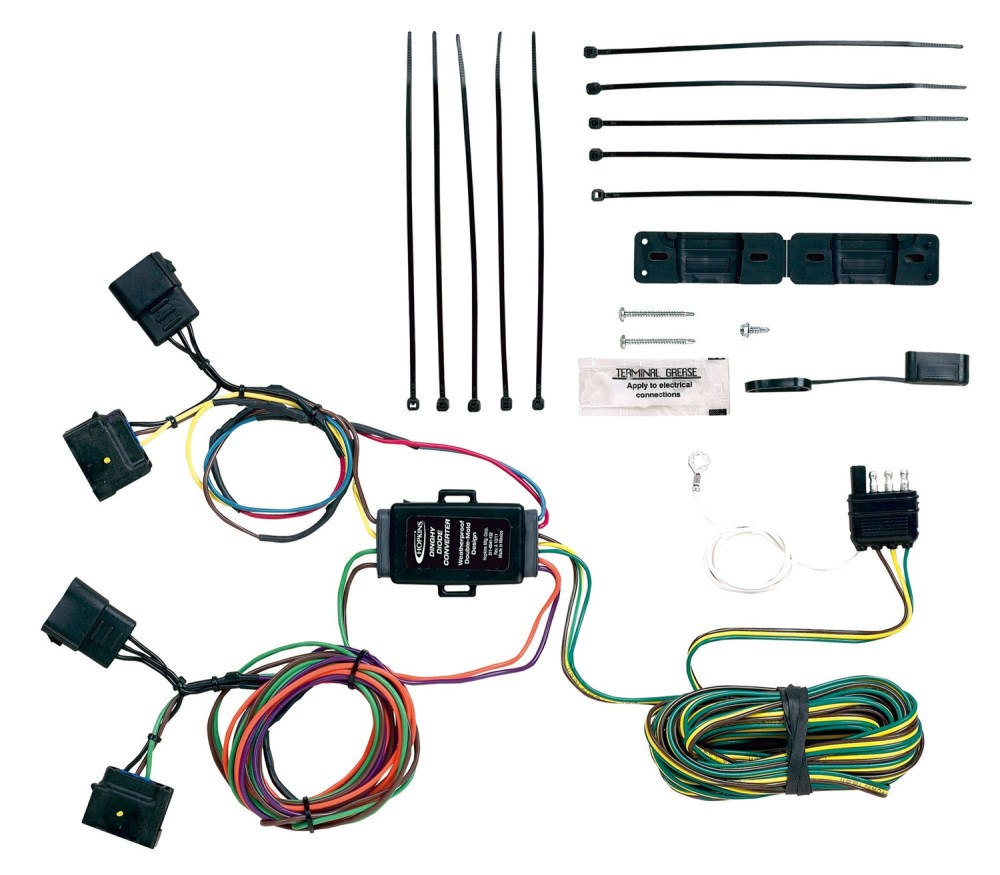 medium resolution of hopkins towing solution 56000 plug in simpler vehicle to trailer wiring harness walmart com