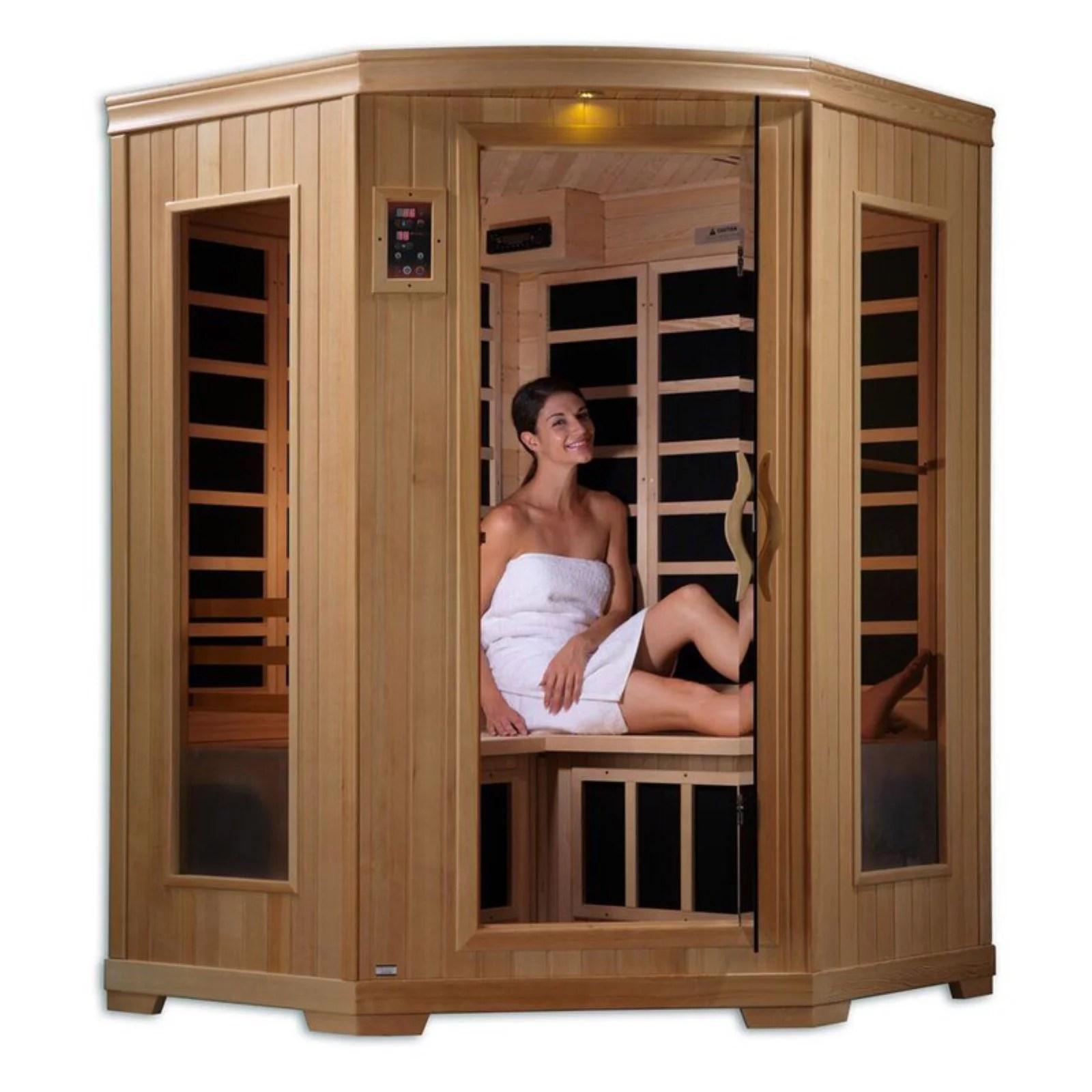 Dynamic Infrared Grand 3 Person FAR Infrared Sauna ...